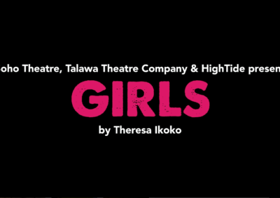 Promo for Girls by Theresa Ikoko